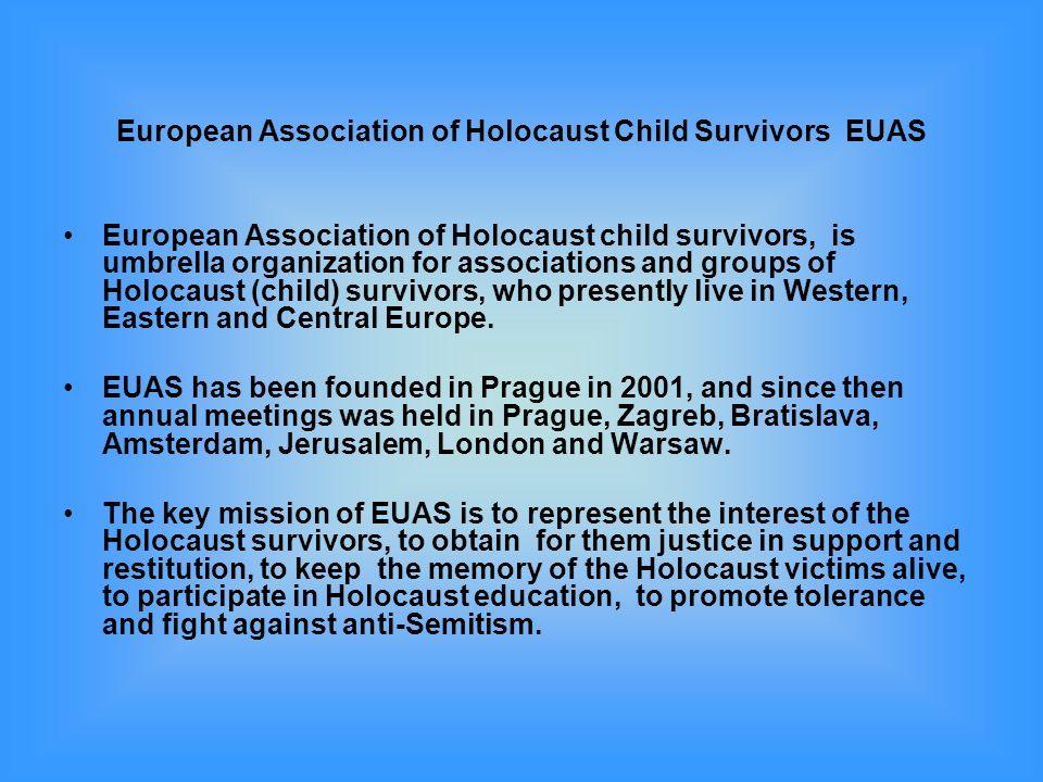 European Association of Holocaust Child Survivors EUAS
