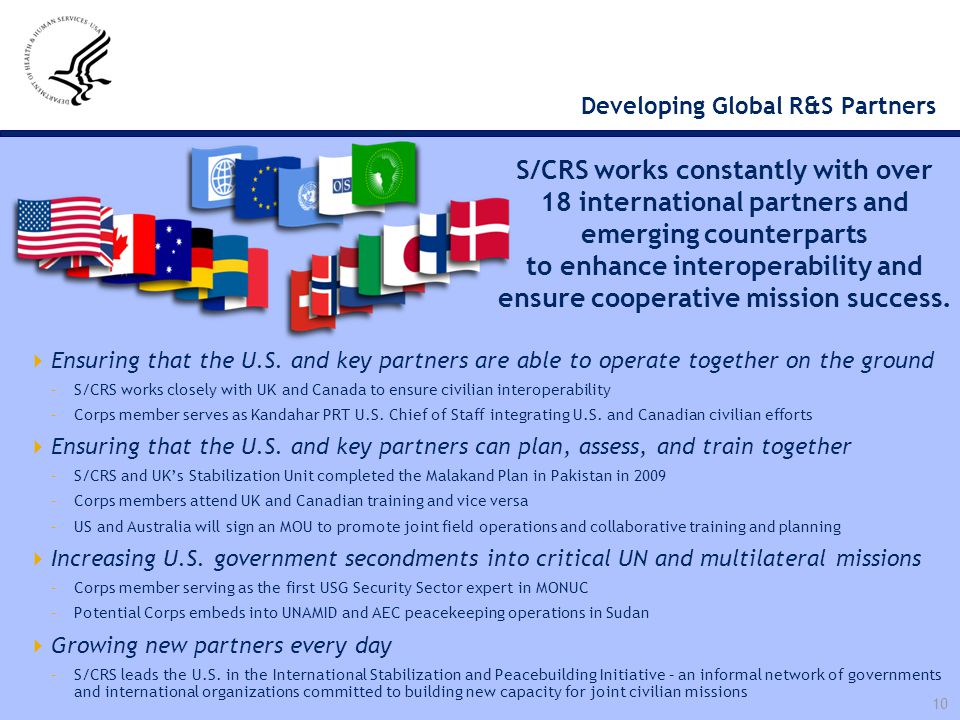 Developing Global R&S Partners