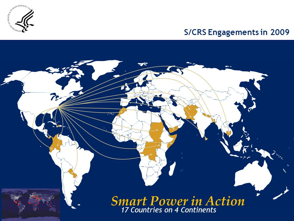 Smart Power in Action S/CRS Engagements in 2009