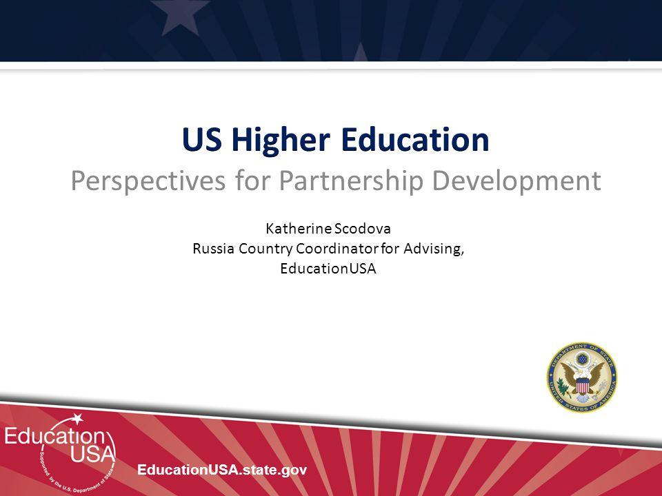 US Higher Education Perspectives for Partnership Development