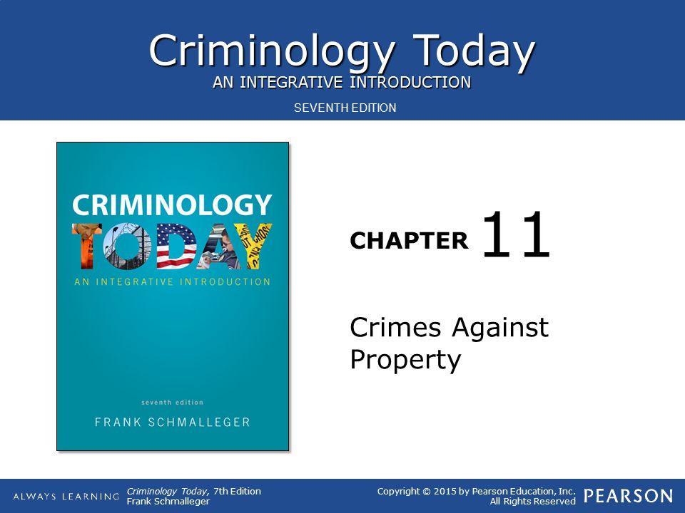 11 Crimes Against Property