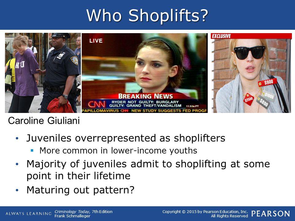 Who Shoplifts Caroline Giuliani