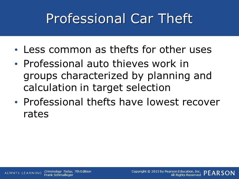 Professional Car Theft