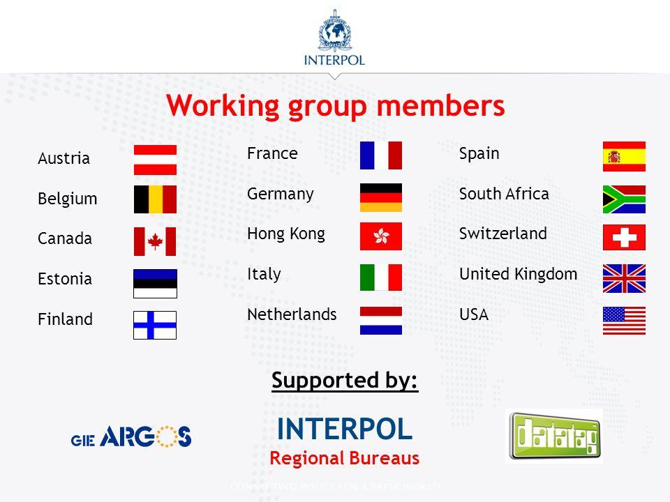 INTERPOL Regional Bureaus