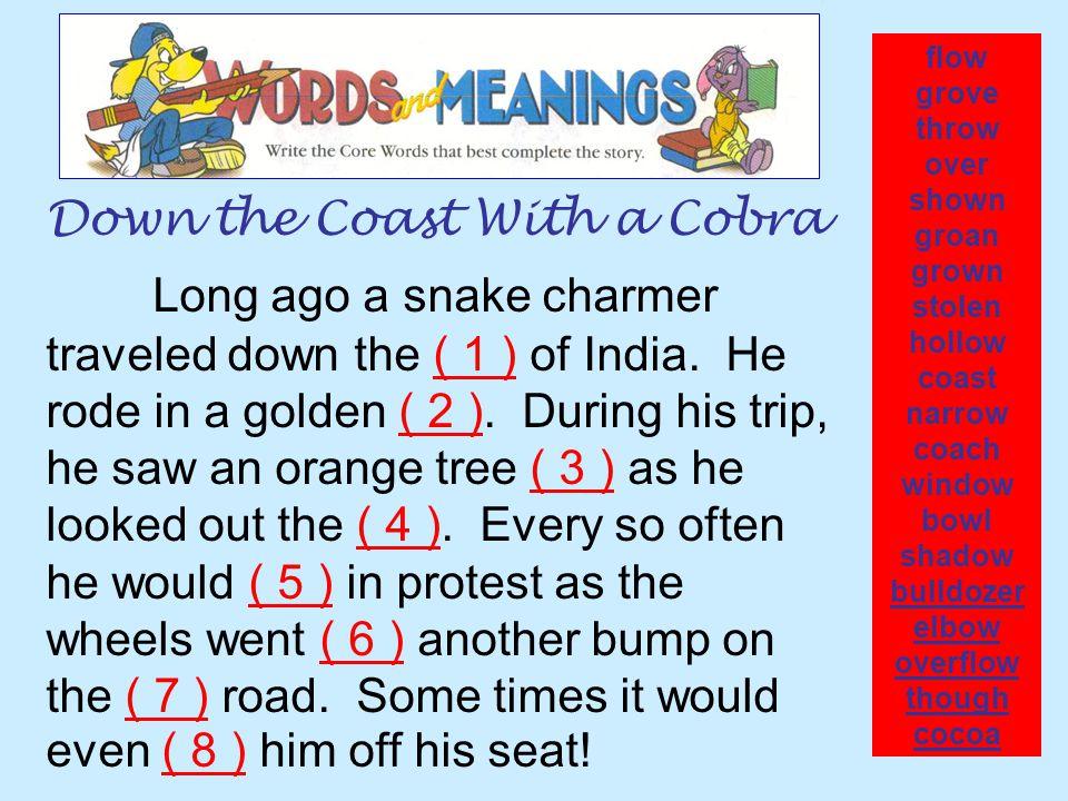 Down the Coast With a Cobra