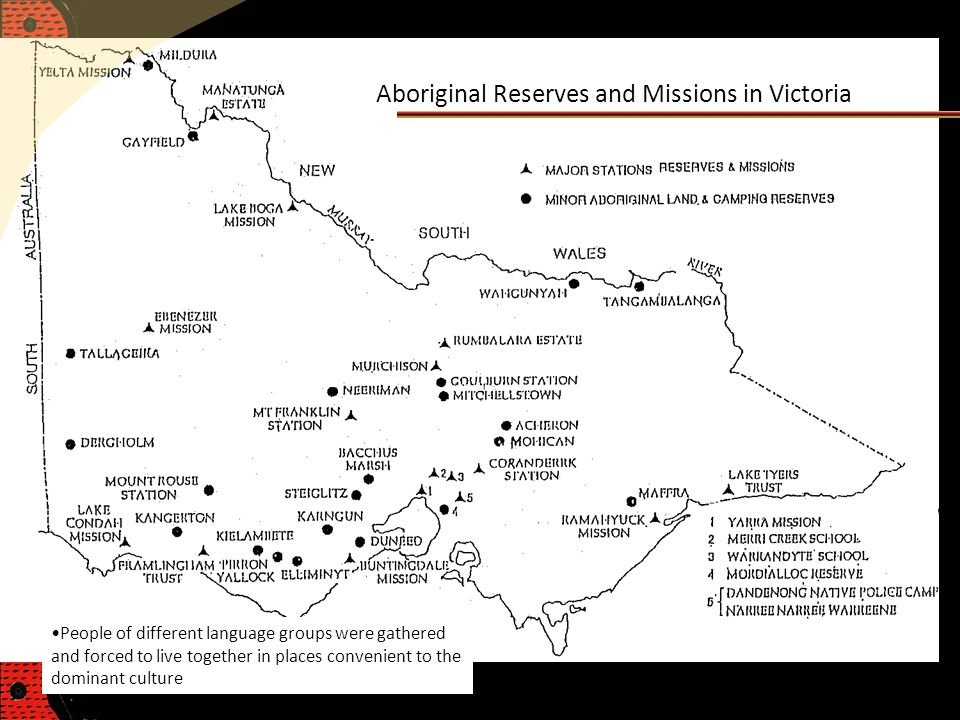 Aboriginal Reserves and Missions in Victoria