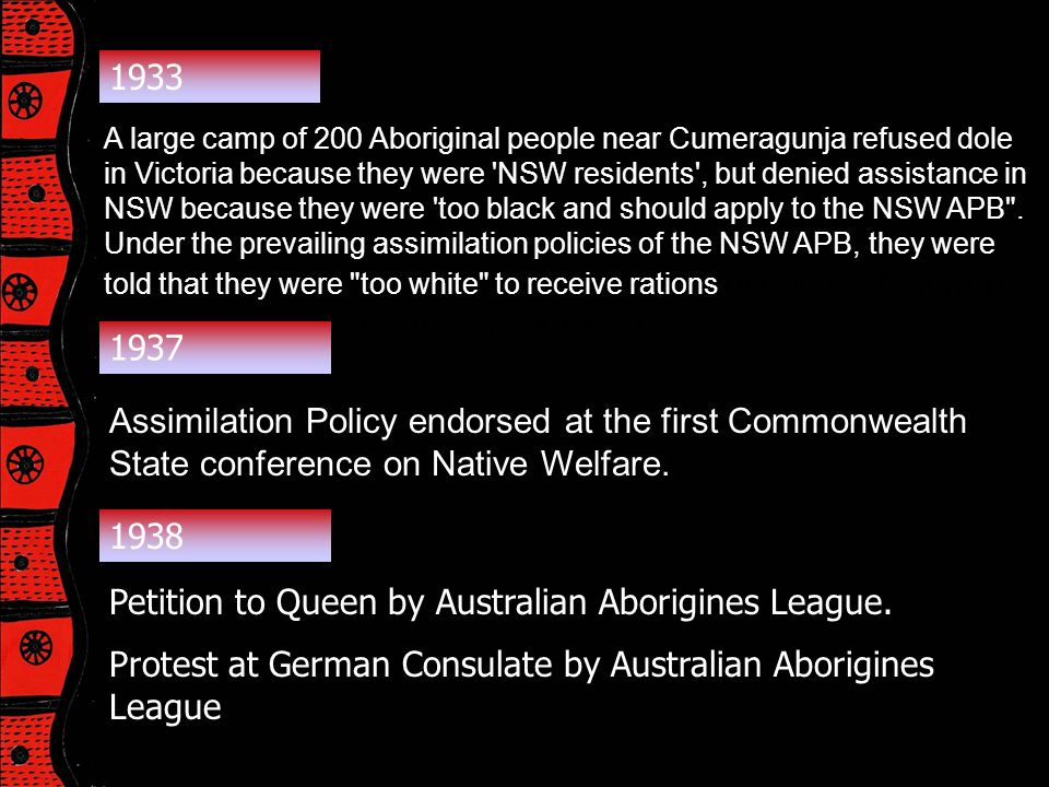 Petition to Queen by Australian Aborigines League.