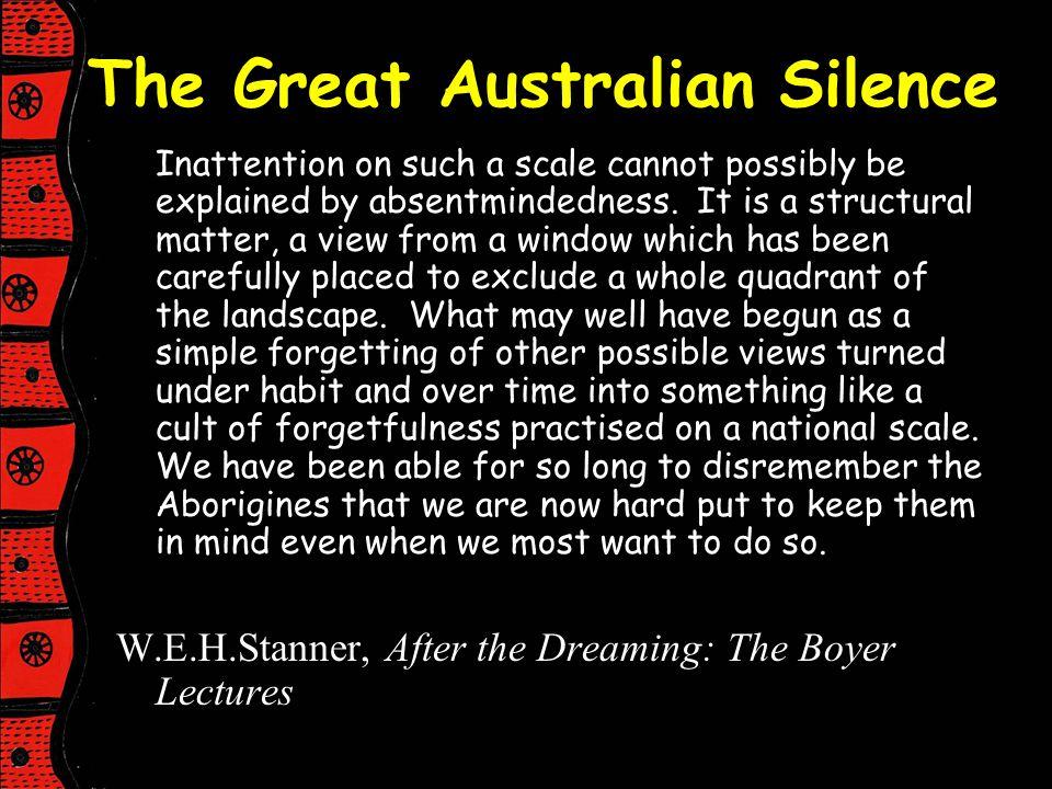 The Great Australian Silence