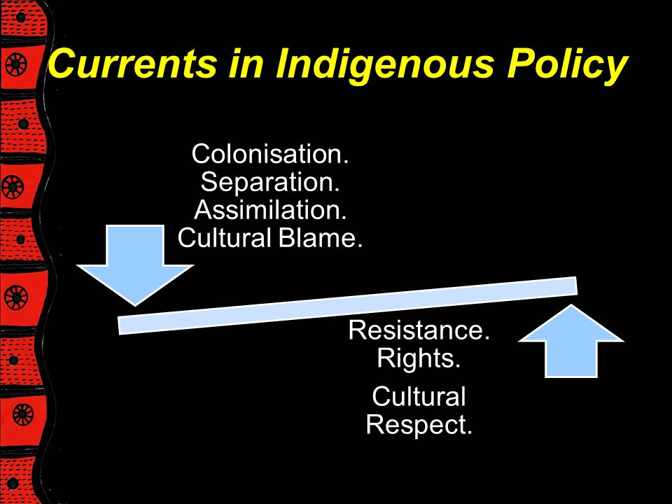 Currents in Indigenous Policy