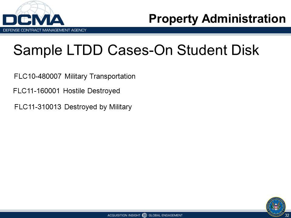 Sample LTDD Cases-On Student Disk