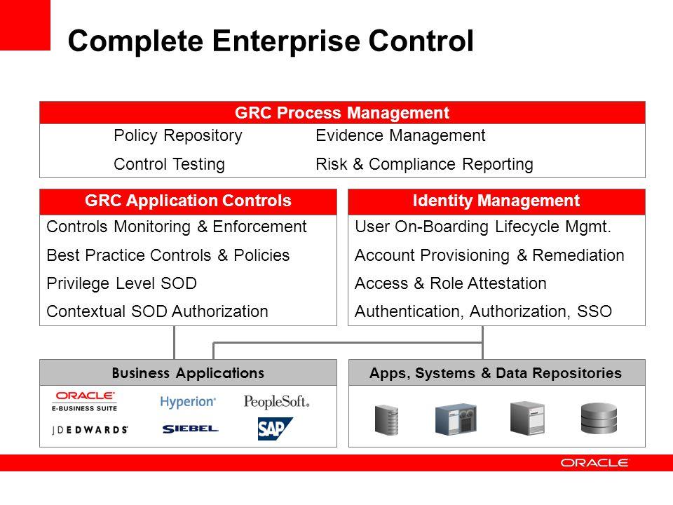 Complete Enterprise Control