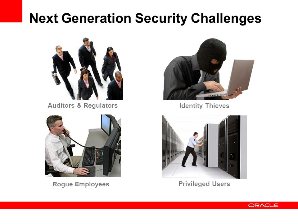 Next Generation Security Challenges