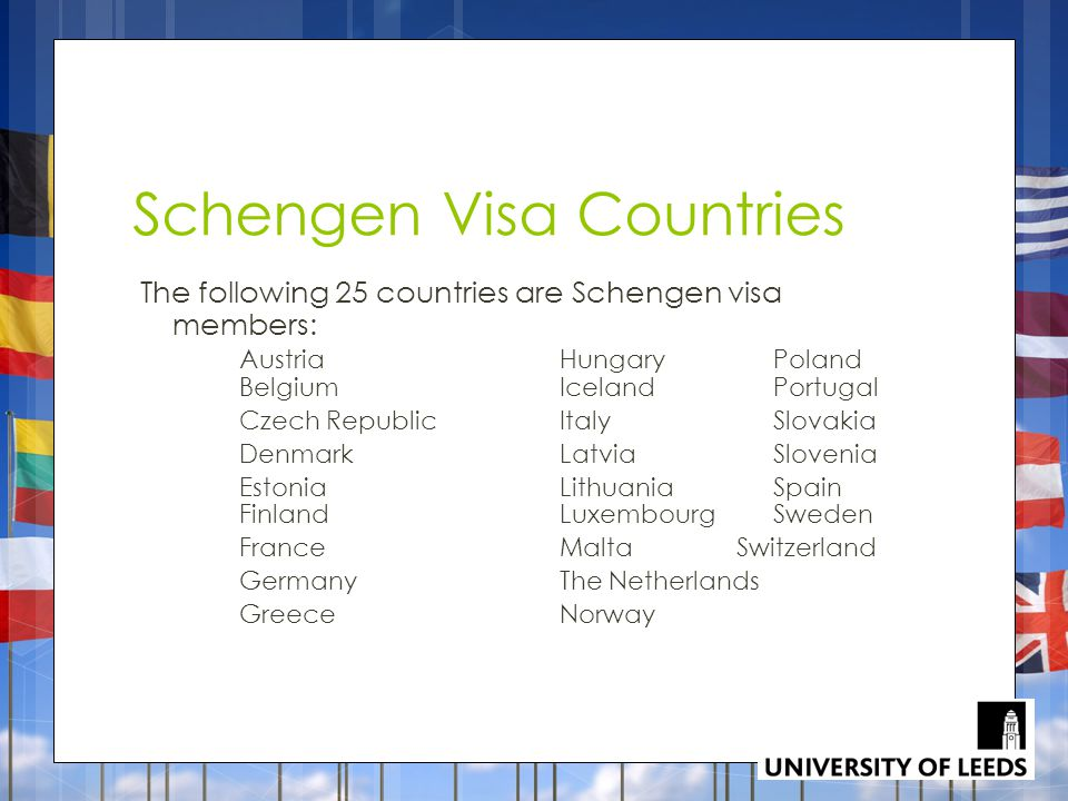 Schengen Visa Countries