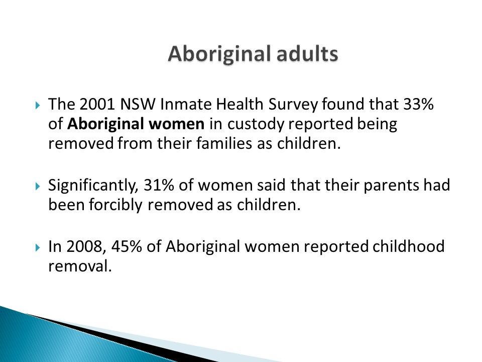 Aboriginal adults