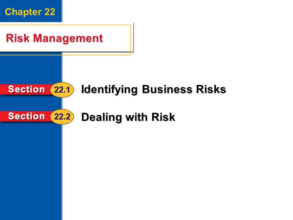 Identifying Business Risks