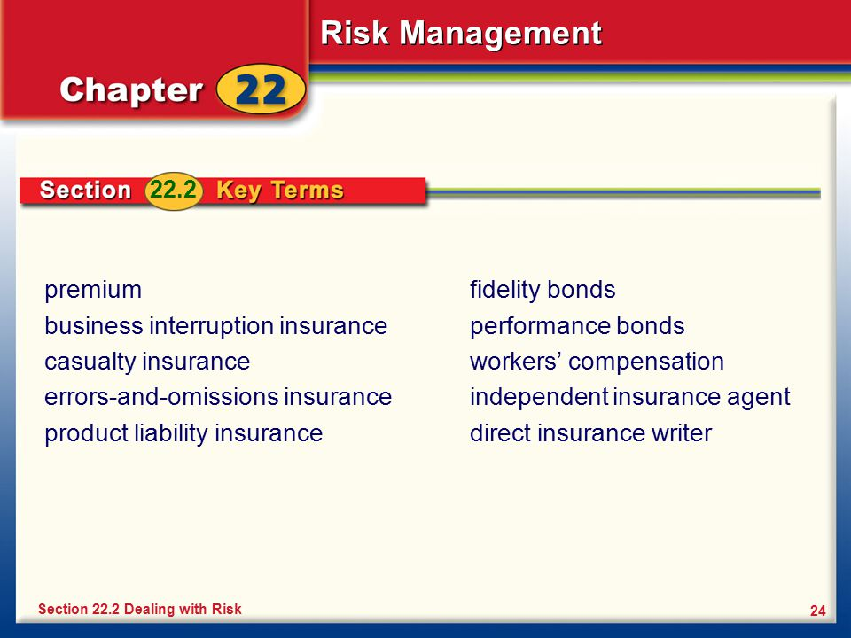 business interruption insurance casualty insurance