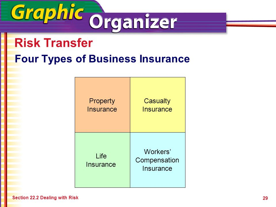 Four Types of Business Insurance