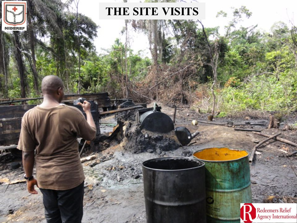 THE SITE VISITS
