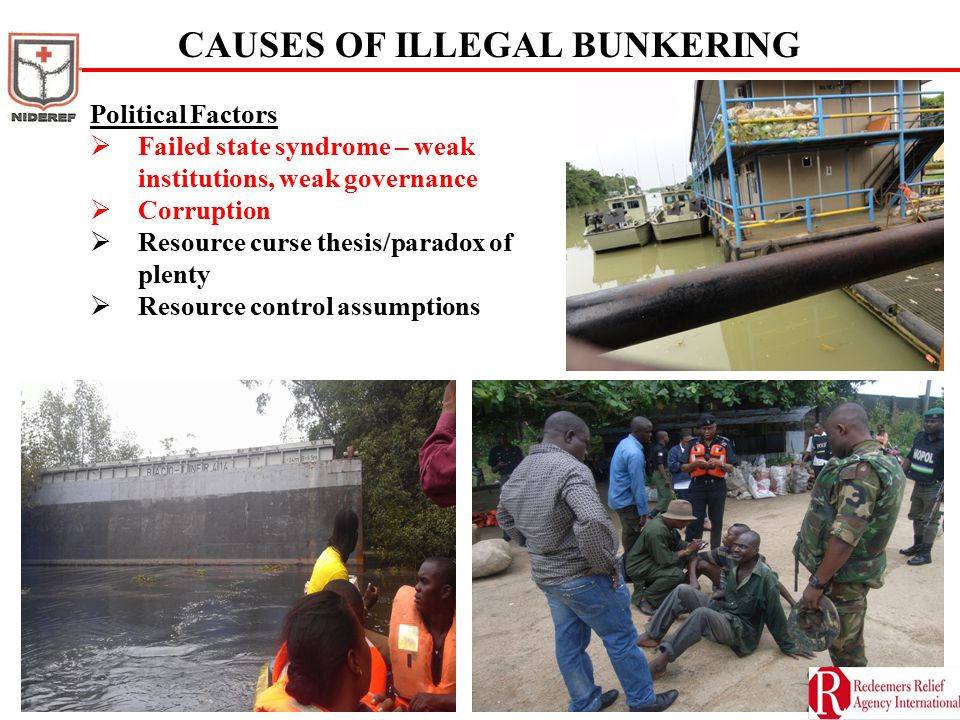CAUSES OF ILLEGAL BUNKERING