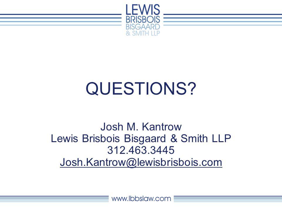 QUESTIONS. Josh M.