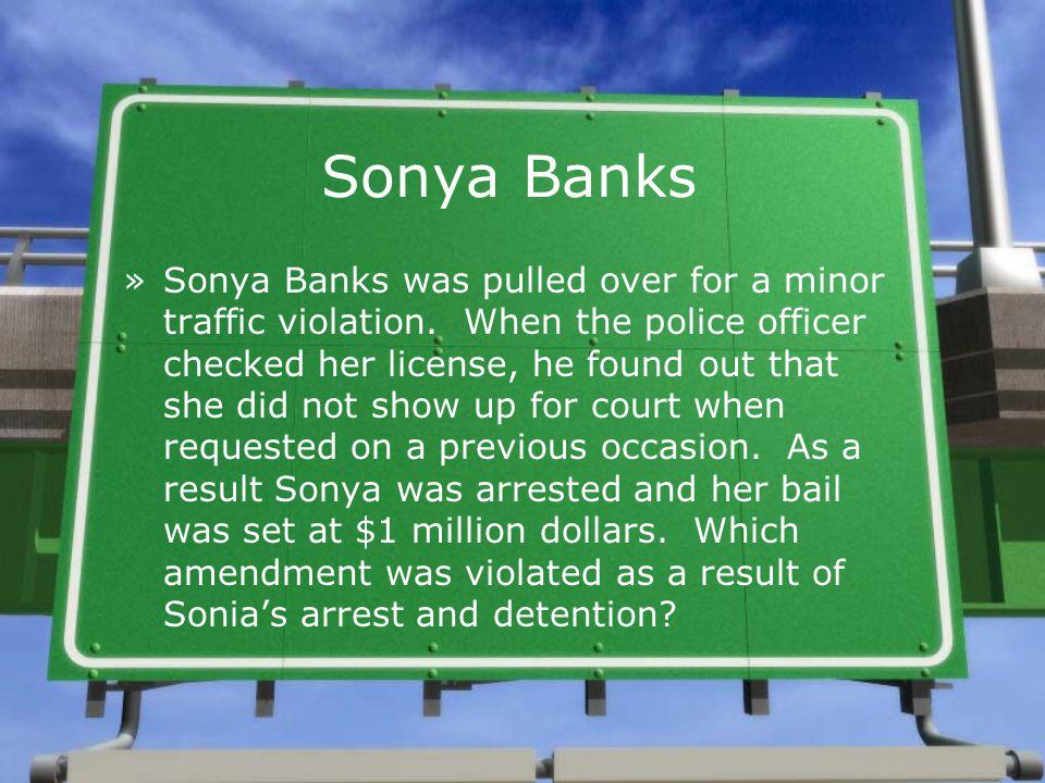 Sonya Banks