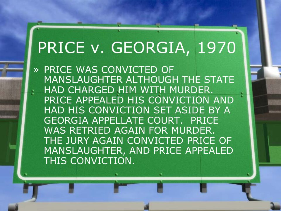 PRICE v. GEORGIA, 1970