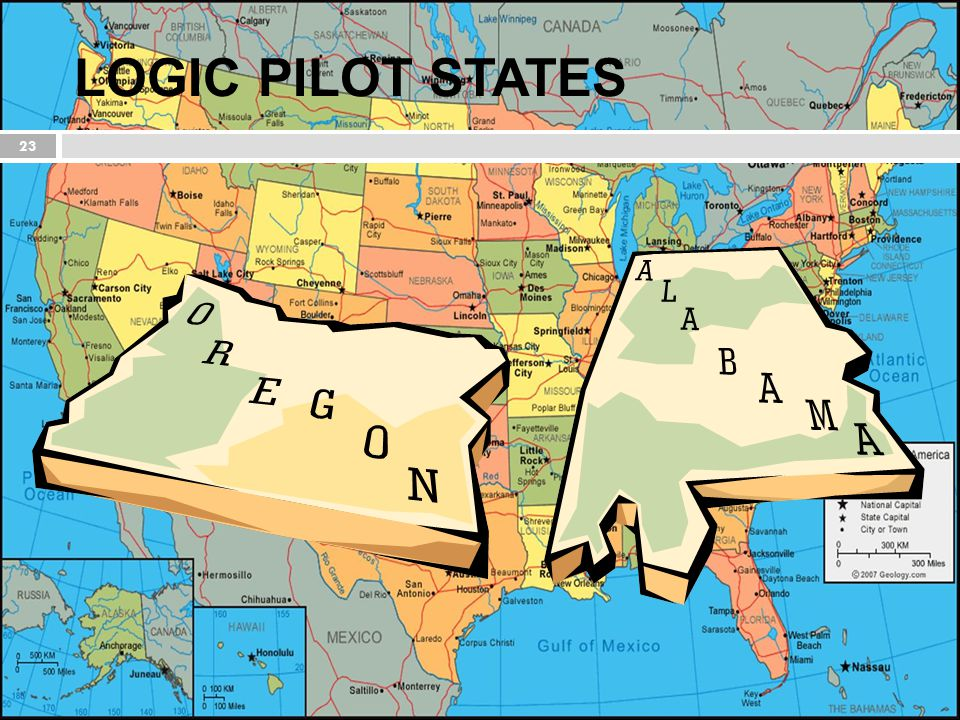 LOGIC PILOT STATES With the Nlets organization and member community as the ideal proving ground,