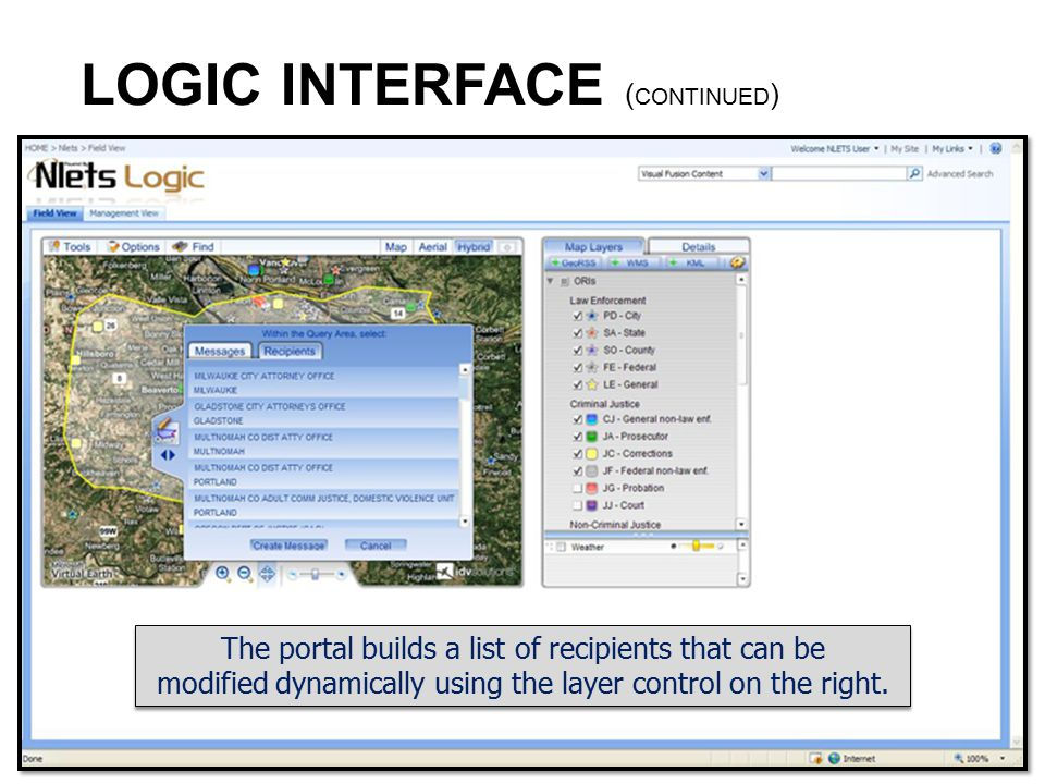 LOGIC INTERFACE (continued)