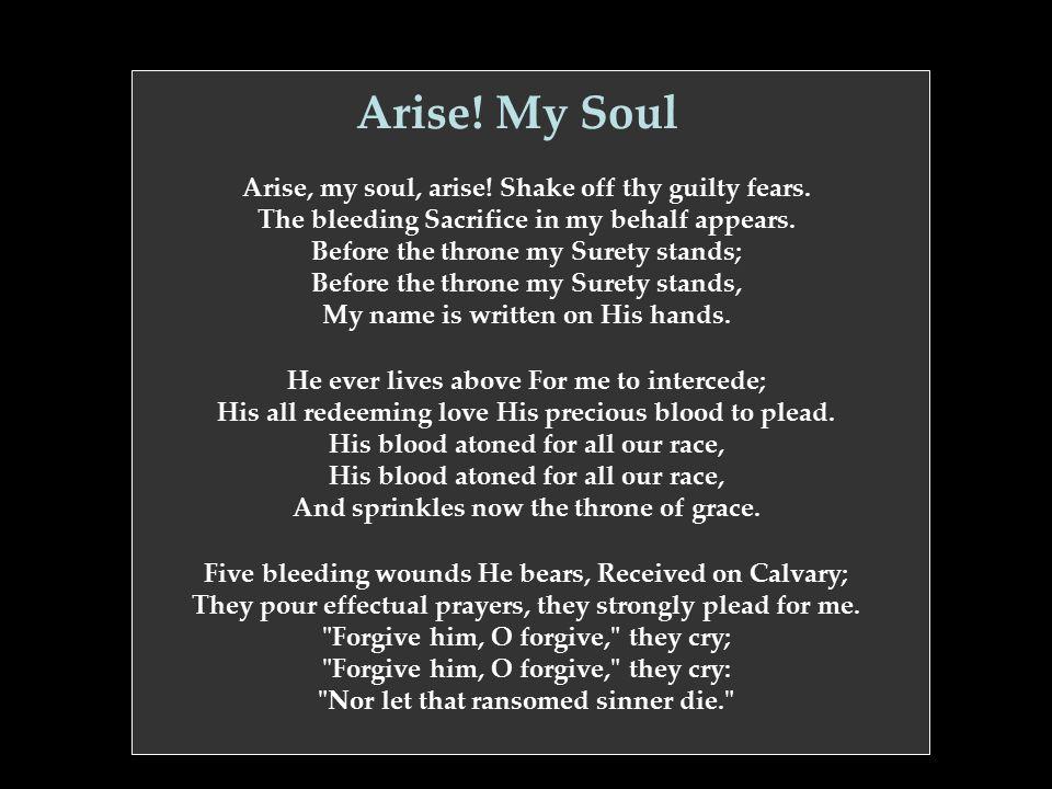 Arise! My Soul