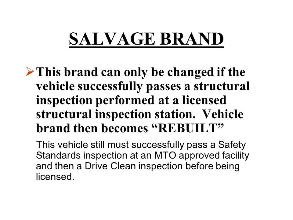 SALVAGE BRAND