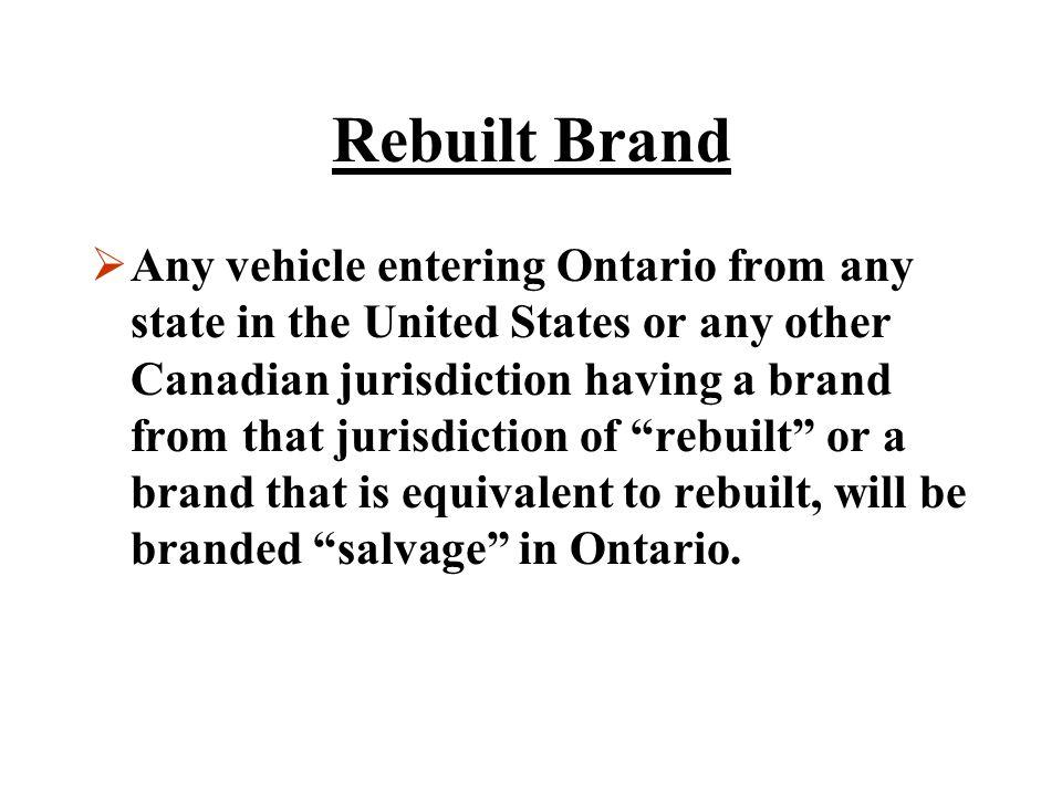 Rebuilt Brand