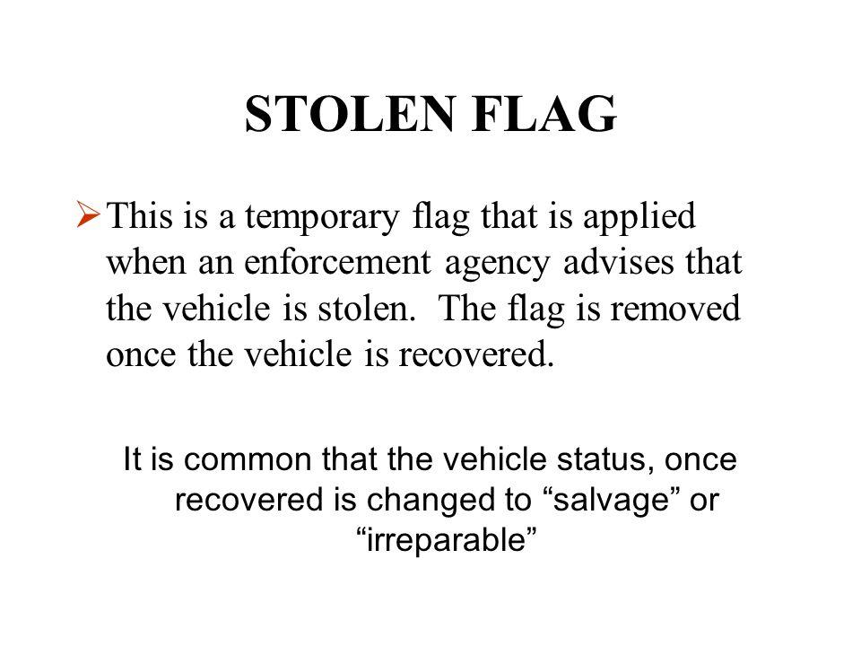 STOLEN FLAG