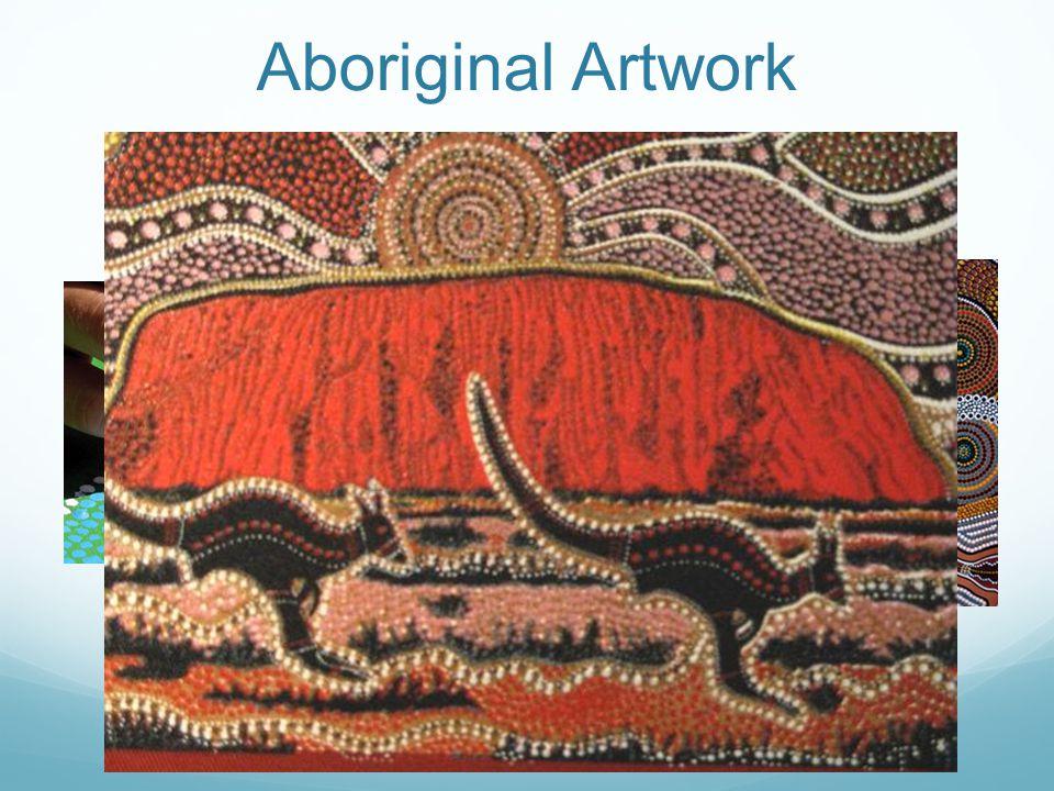 Aboriginal Artwork dot painting