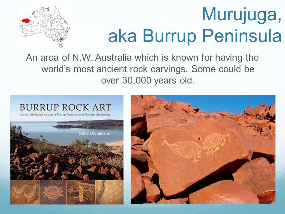 Murujuga, aka Burrup Peninsula