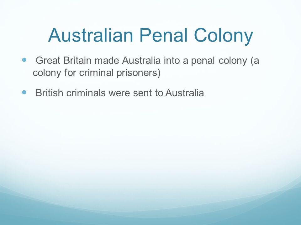 Australian Penal Colony