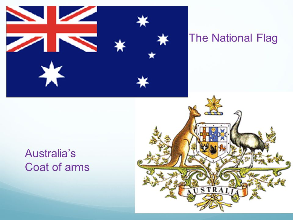 The National Flag Australia's Coat of arms