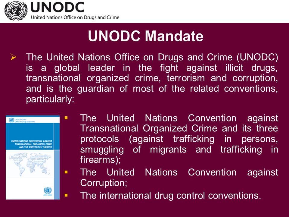 UNODC Mandate