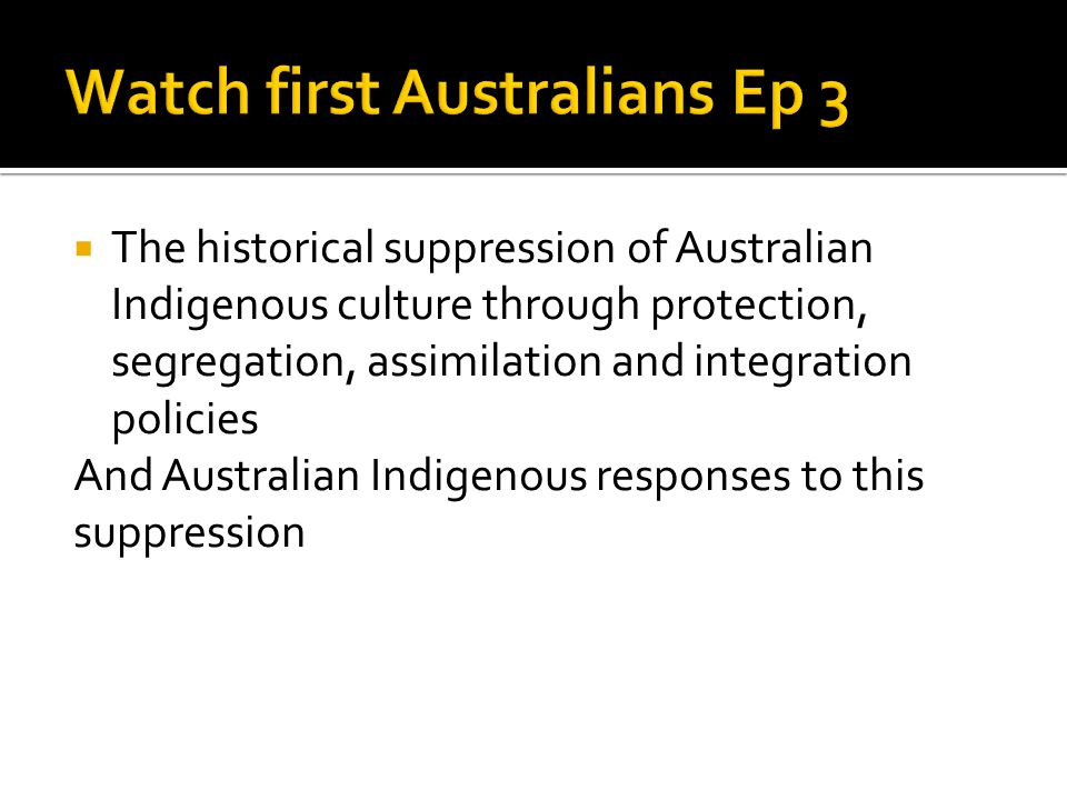 Watch first Australians Ep 3