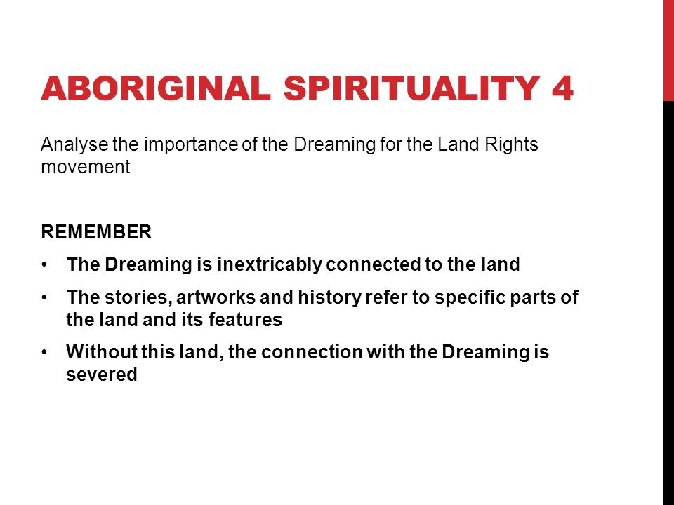 Aboriginal spirituality 4