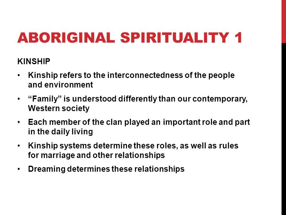 ABORIGINAL SPIRITUALITY 1