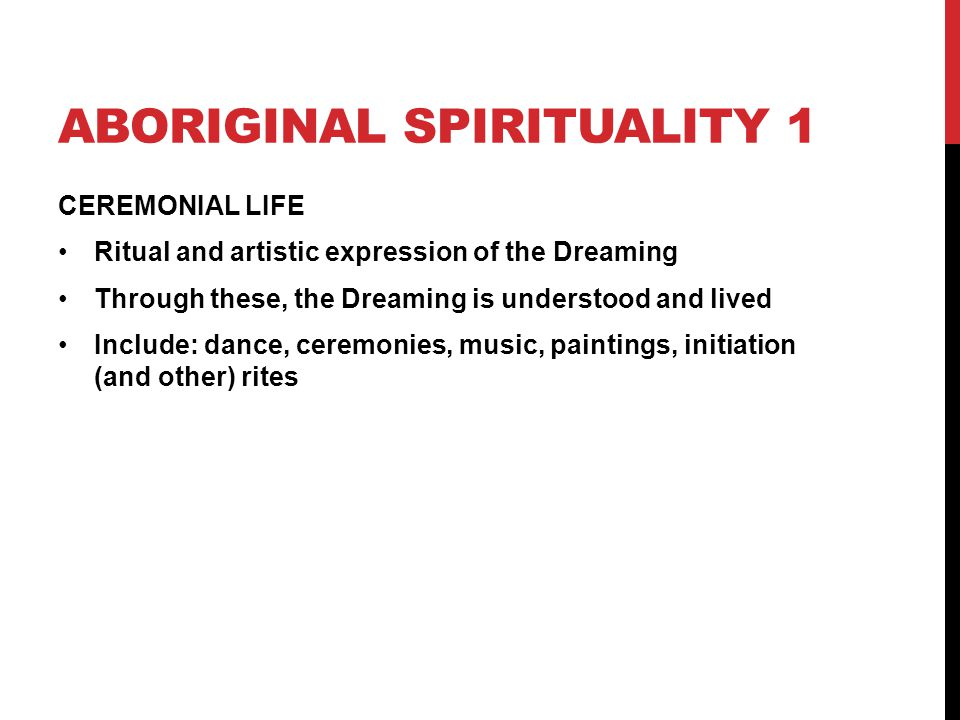 effect of dispossession on aboriginal spiritualities religion essay I have an assessment on the effect of dispossession on aboriginal spirituality  and i wanted some extra information if anyone has anything they.