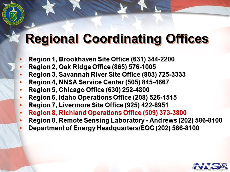 Regional Coordinating Offices