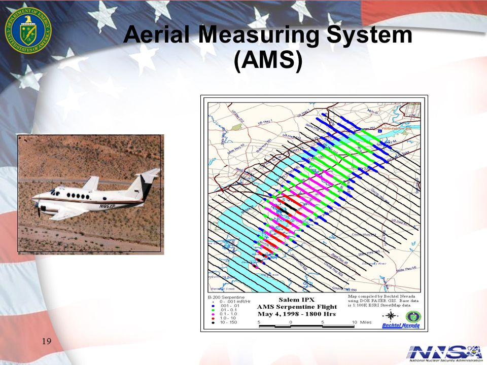 Aerial Measuring System (AMS)