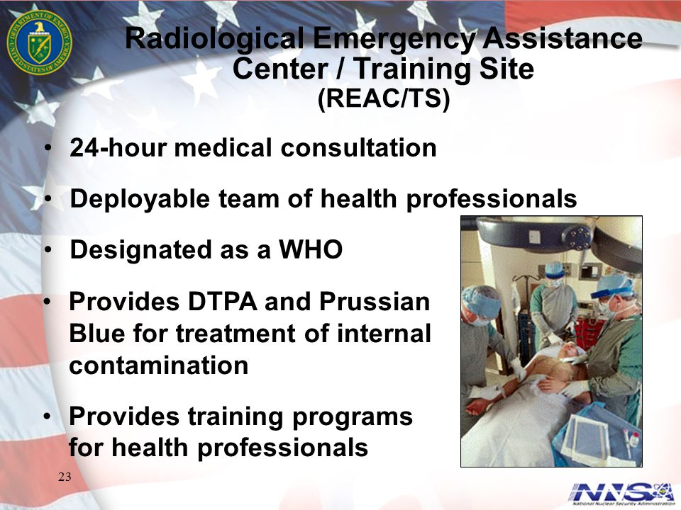 Radiological Emergency Assistance