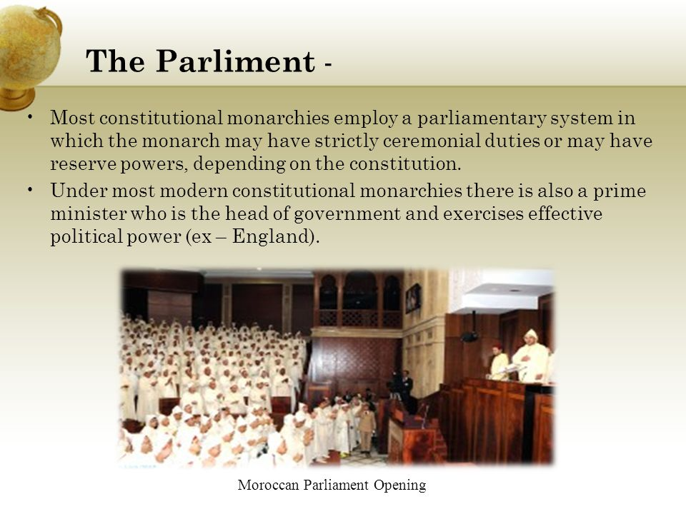 Moroccan Parliament Opening