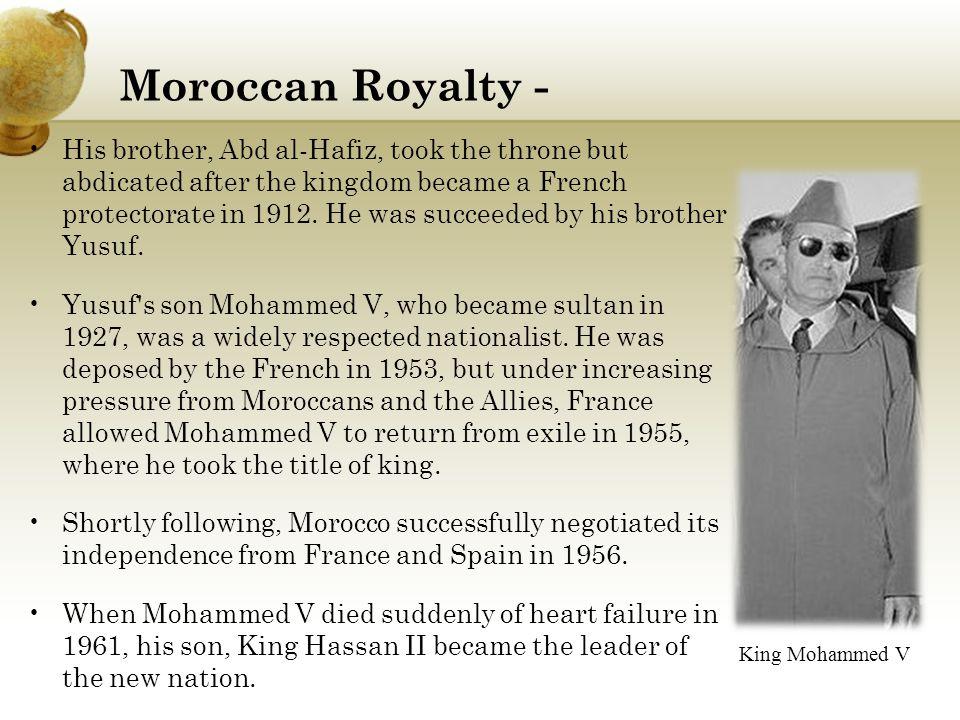 Moroccan Royalty -