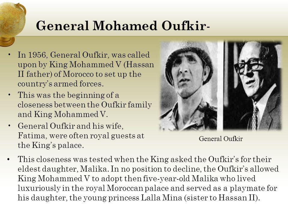 General Mohamed Oufkir-