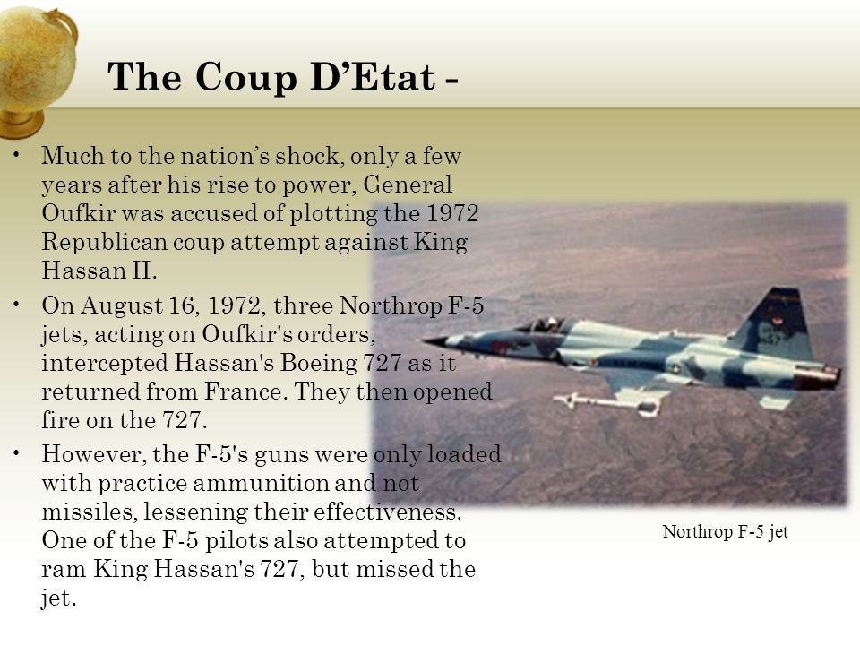 The Coup D'Etat -