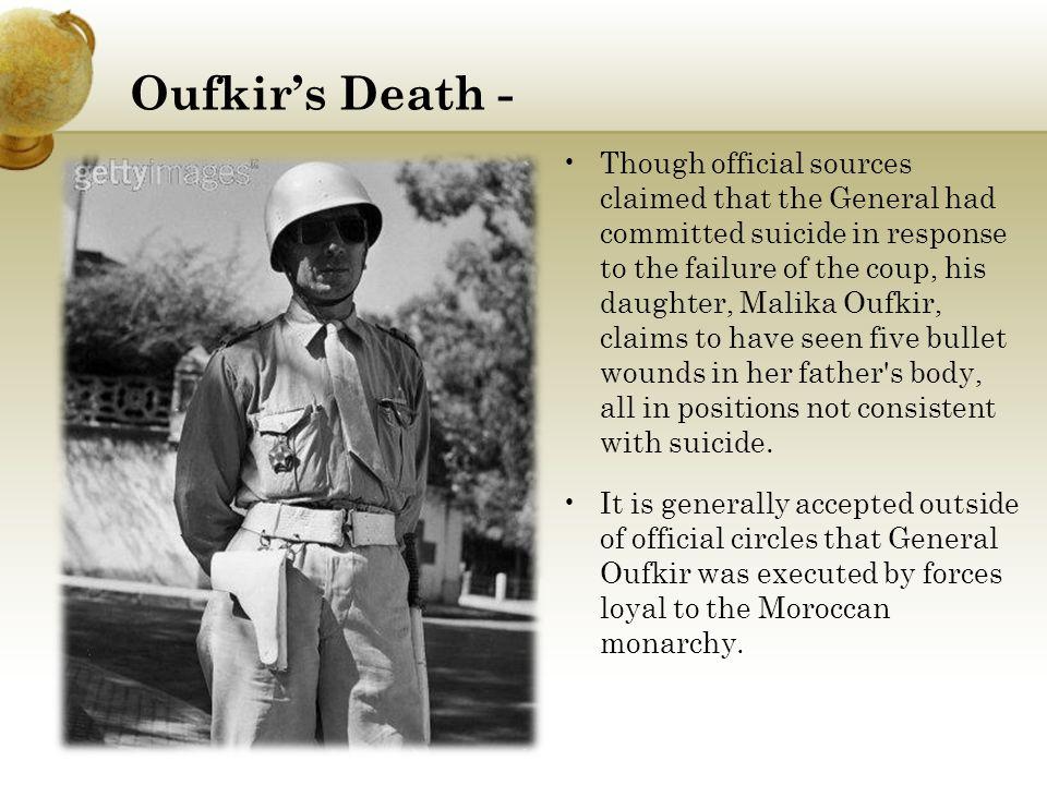 Oufkir's Death -