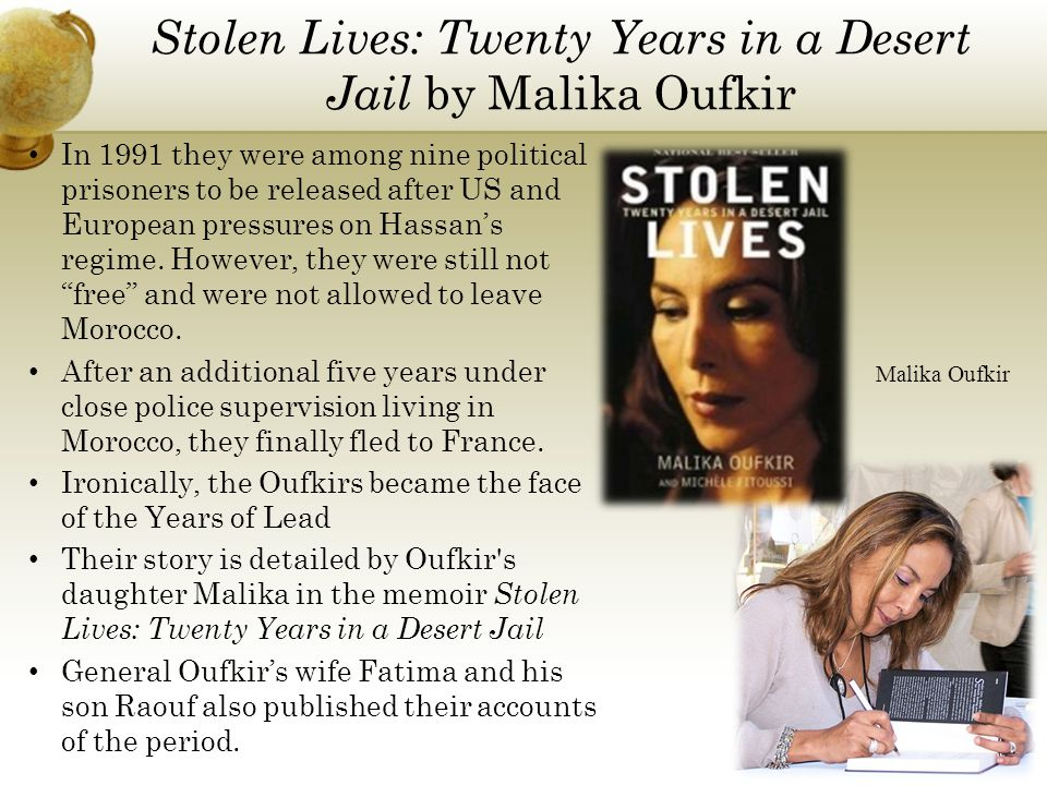 Stolen Lives: Twenty Years in a Desert Jail by Malika Oufkir